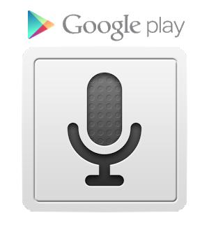 hlasové zadávání Google na Play